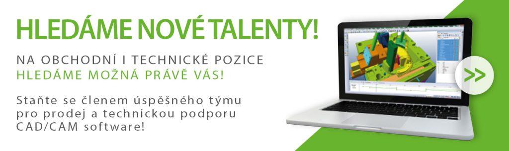 hledáme talenty inzerát